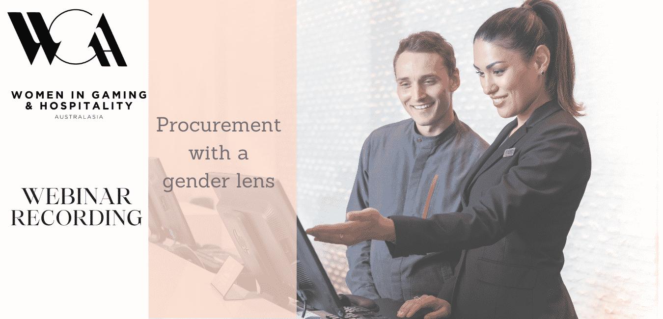 Procurement with a Gender Lens