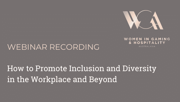 Webinar How to Promote Inclusion