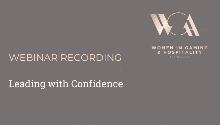 Webinar Leading with Confidence